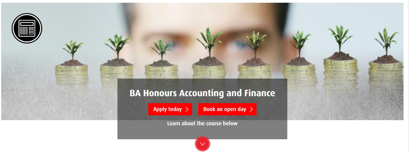 BA Honours Accounting and Finance