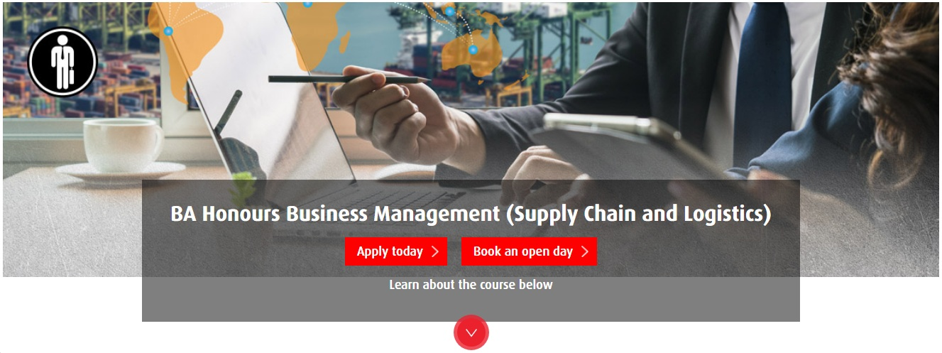 BA Honours Business Management (Supply Chain and Logistics)