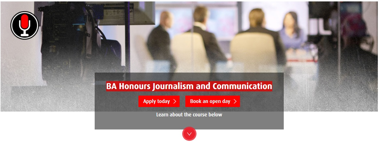BA Honours Journalism and Communication