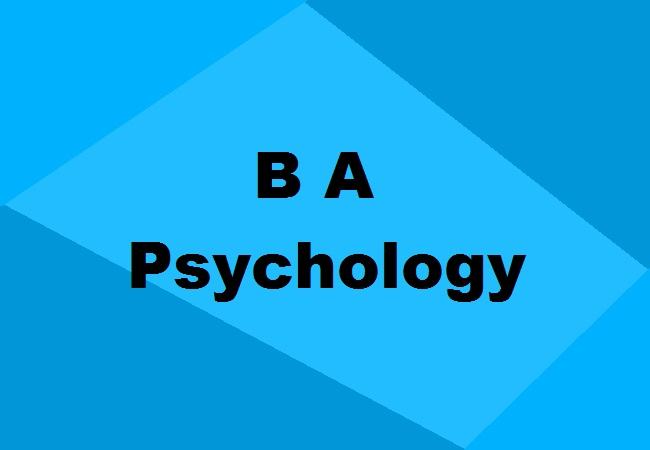 BA in Psychology