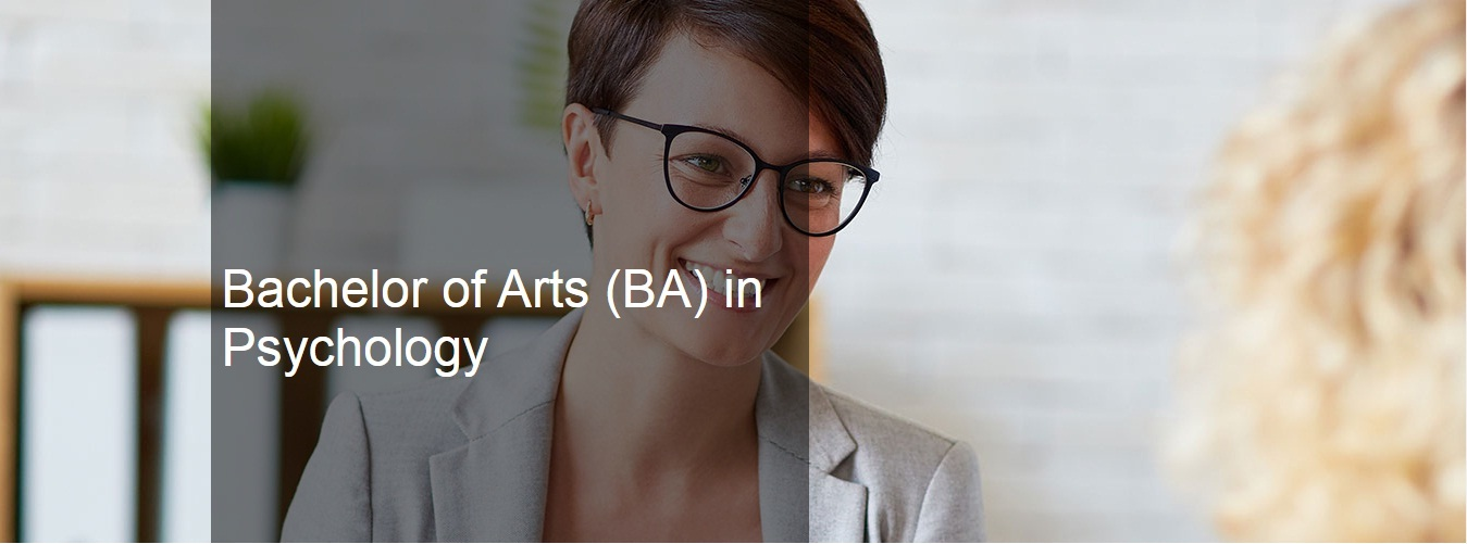 Bachelor of Arts (BA) in Psychology