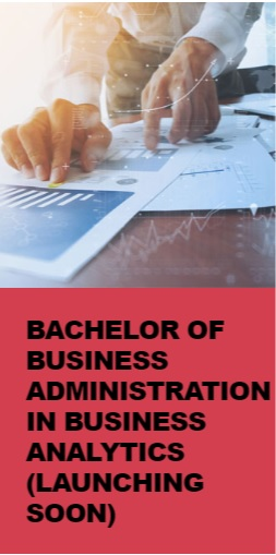 Bachelor of Business Administration in Business Analytics (Launching Soon)