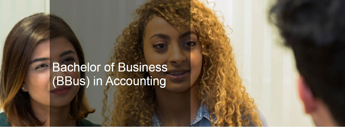 Bachelor of Business (BBus) in Accounting