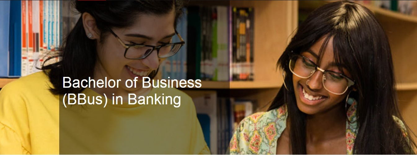 Bachelor of Business (BBus) in Banking