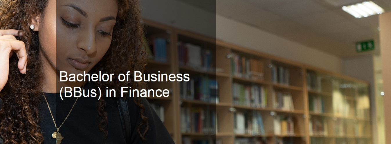 Bachelor of Business (BBus) in Finance