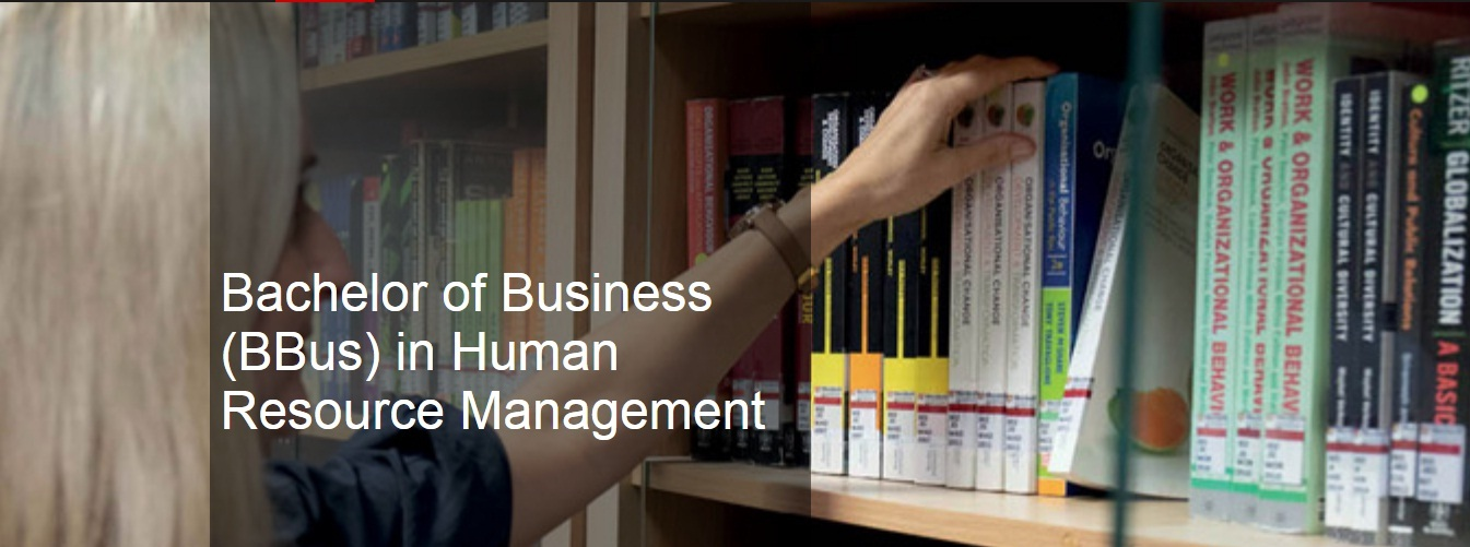 Bachelor of Business (BBus) in Human Resource Management