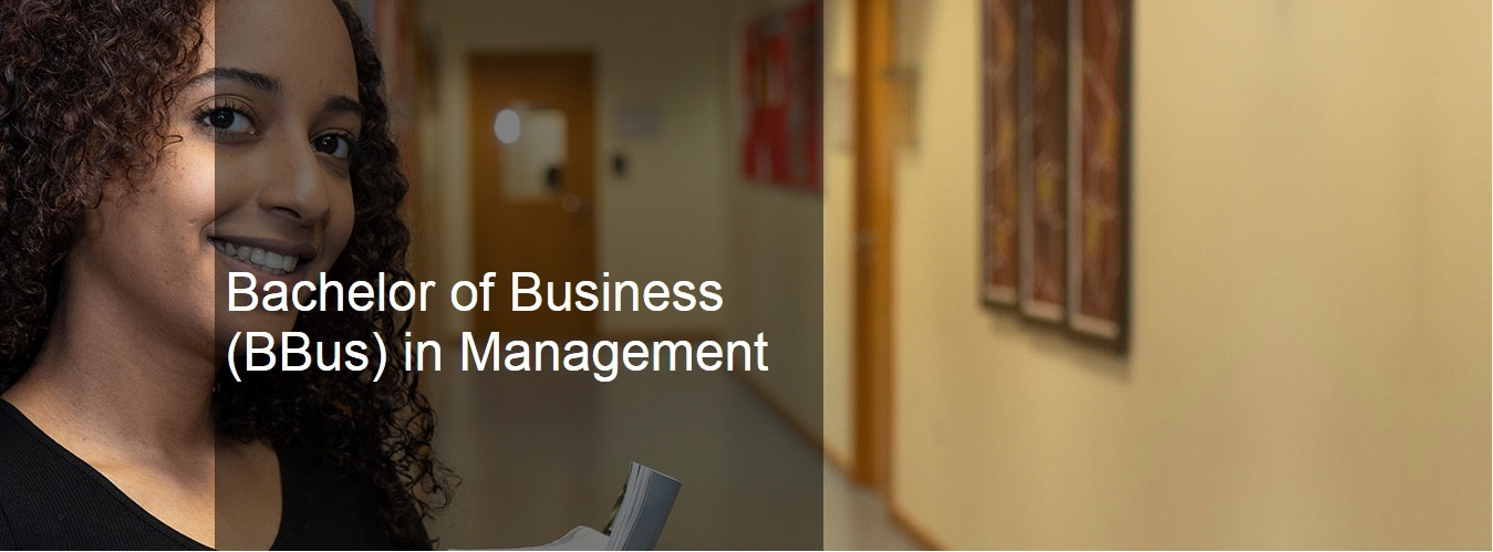 Bachelor of Business (BBus) in Management