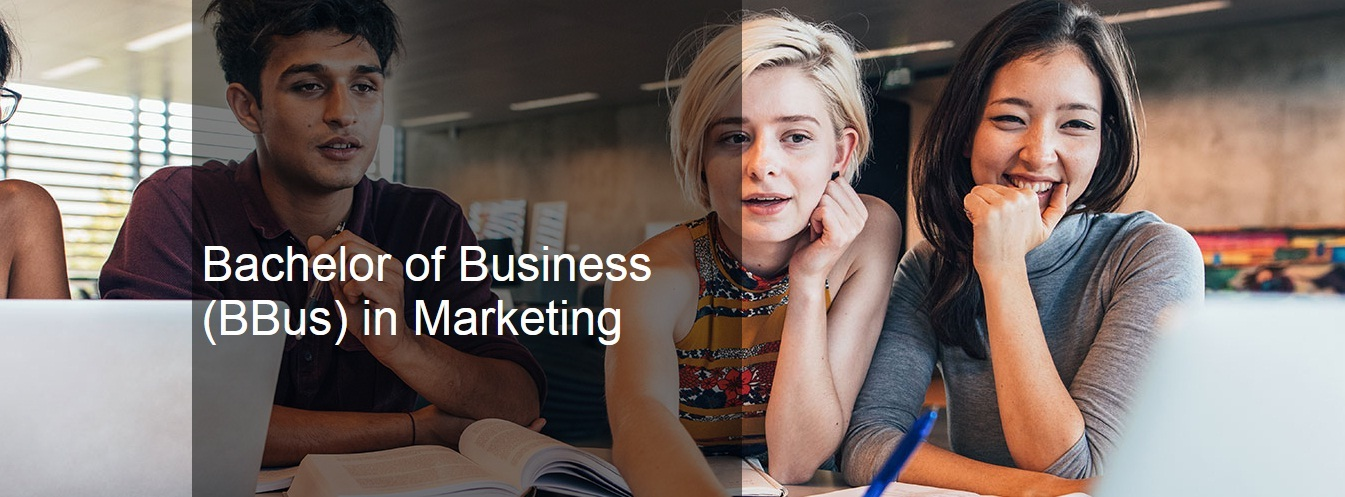 Bachelor of Business (BBus) in Marketing