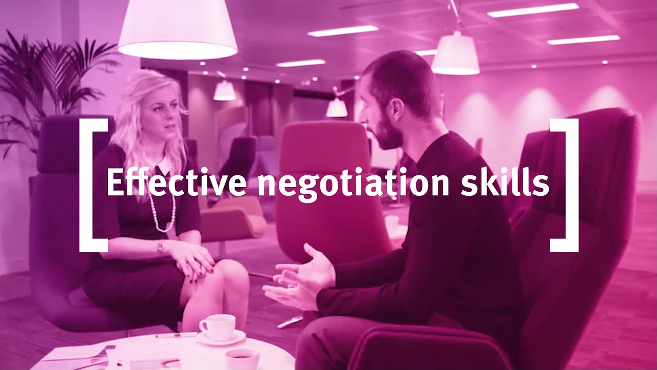 Effective Negotiation Skills: Influencing with Impact