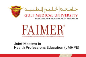 JOINT MASTERS IN HEALTH PROFESSIONS EDUCATION (JMHPE)