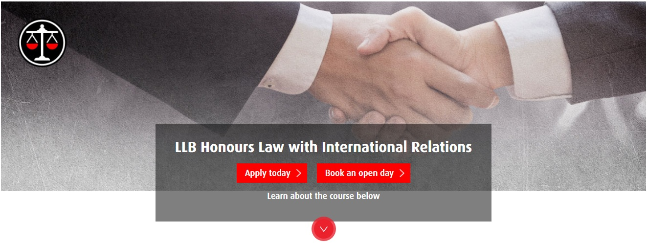 LLB Honours Law with International Relations