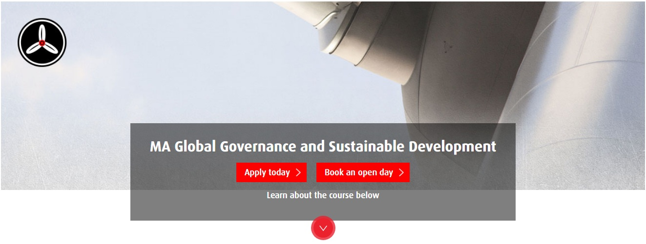 MA Global Governance and Sustainable Development