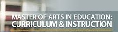 Master of Arts in Online Curriculum and Instruction