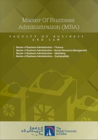 Master of Business Administration – Finance