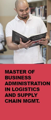 Master of Business Administration in Logistics and Supply Chain Mgmt.