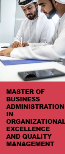Master of Business Administration in Organizational Excellence and Quality Management