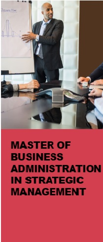Master of Business Administration in Strategic Management