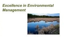 Master of Science: Excellence in Environmental Management