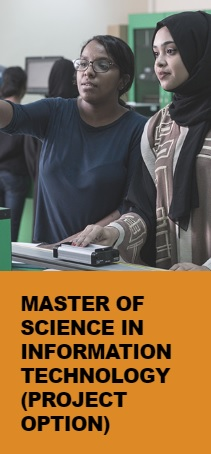 Master of Science in Information Technology (Project option)