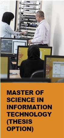 Master of Science in Information Technology (Thesis option)