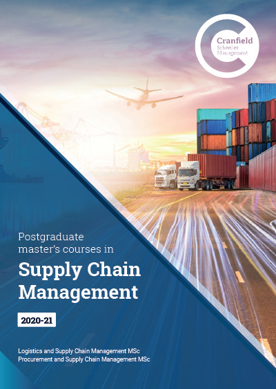 Master of Science in Supply Chain and Logistics Management