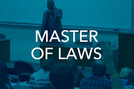 Master of law program