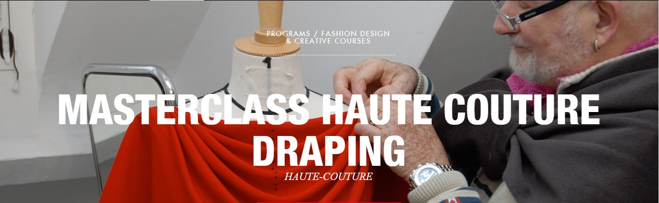 Masterclass Haute Couture Draping